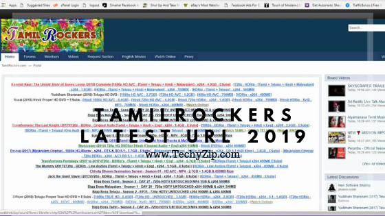TamilRockers New Link 2019 : Latest URL, VPN & Proxy - TechyZip