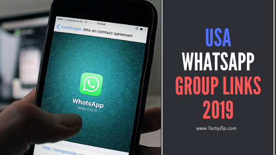 USA WhatsApp Group Links | TechyZip.com