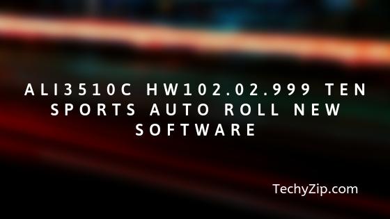 ALI3510C HW102.02.999 Ten Sports Auto Roll New Software