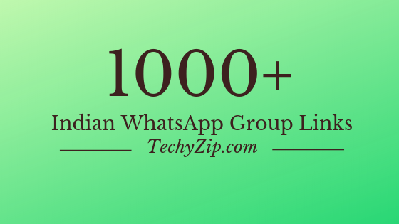 Featured Image For Indian WhatsApp Group Links