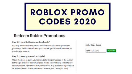 How To Get Free Roblox Virtual Item Promo Codes 2019 ...