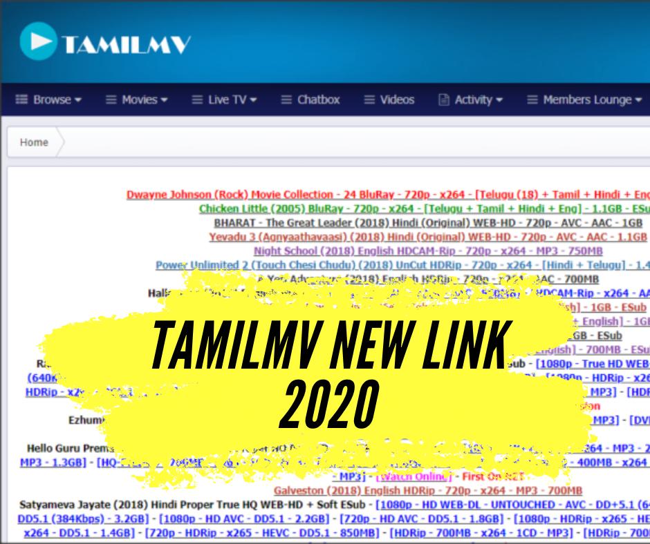 TamilMV New Link - TamilMV Proxy 2020
