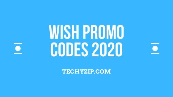 WISH Promo codes 2020