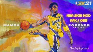 NBA 2k21 APK OBB MOD Latest Version